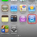 Application telechargement
