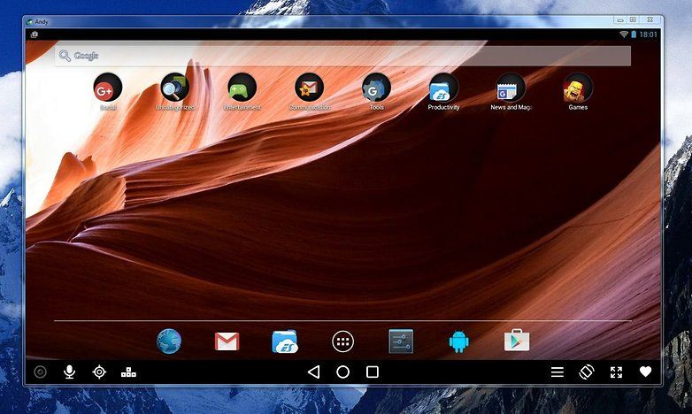 emuler application android sur pc