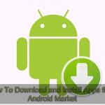 A baixar android market