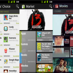 Android market nouvelle version