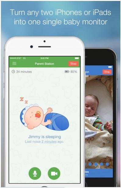 Application iphone futur bébé