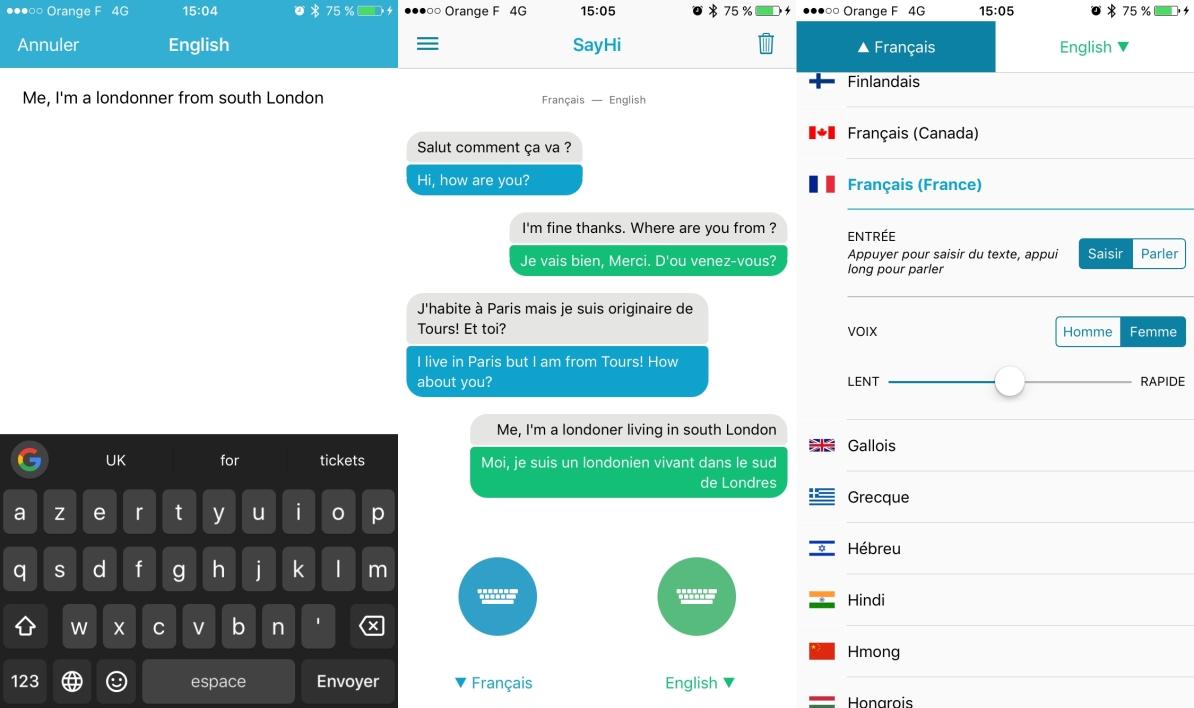 Quelle est la meilleure application de traduction sur iphone