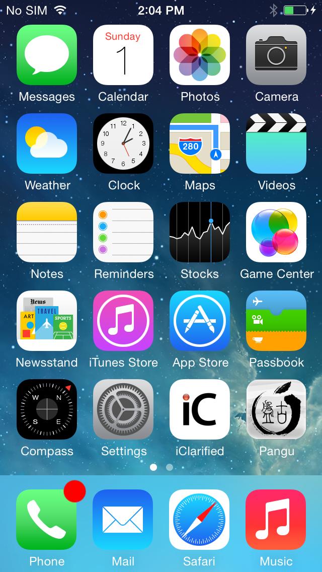 Jailbreak iphone 5 application