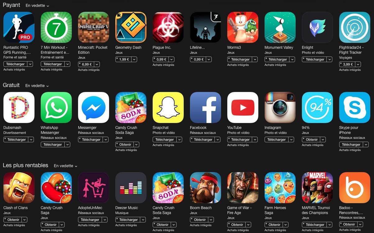 Meilleure application iphone photo gratuite