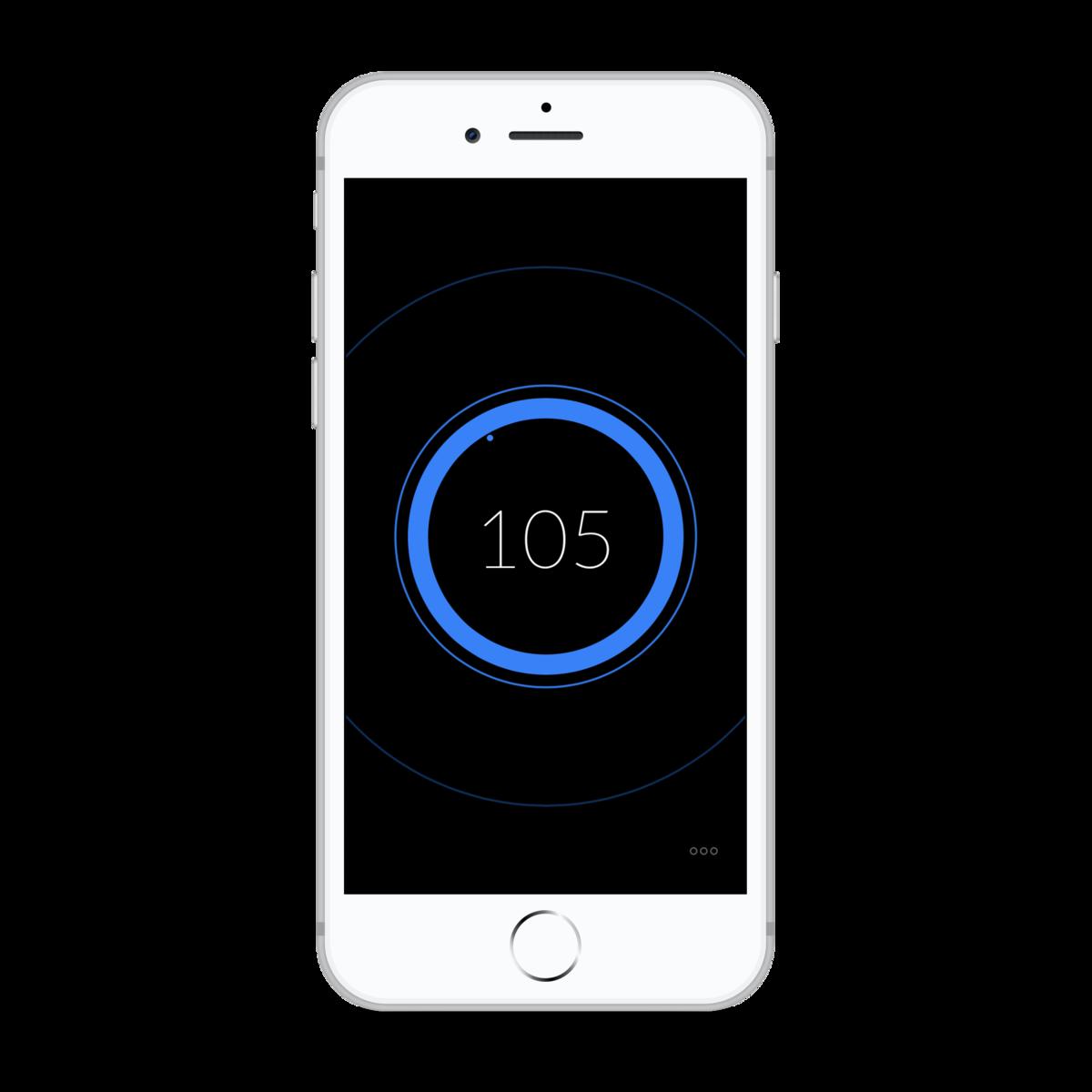 Metronome application iphone