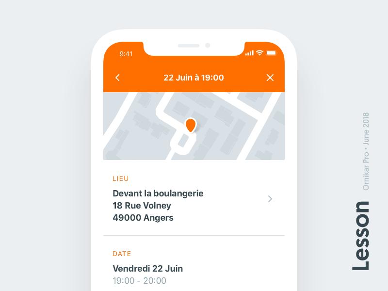 Ornikar application iphone