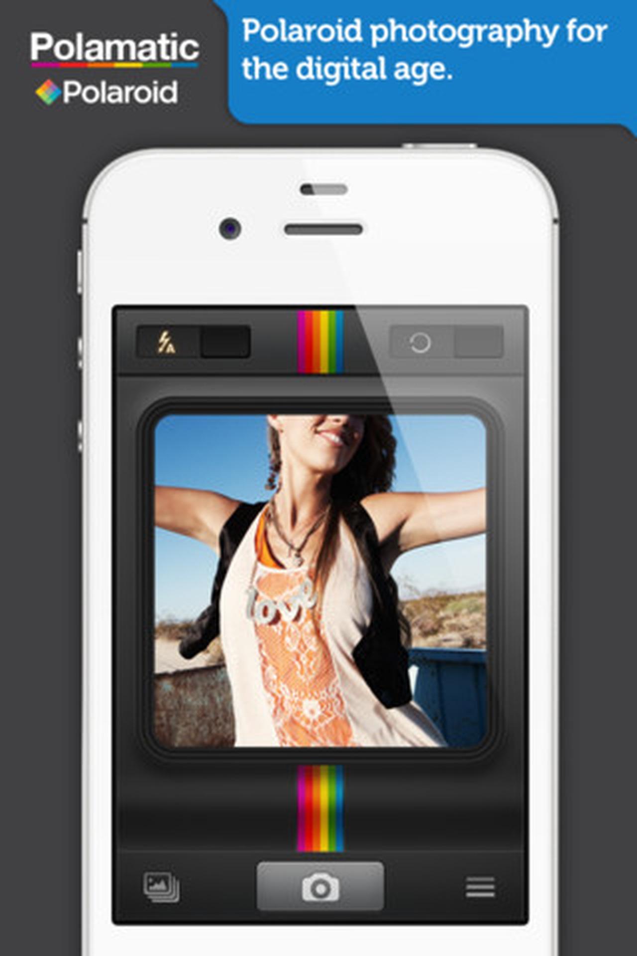 Application iphone polaroid