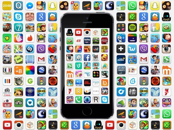 Application populaire sur iphone