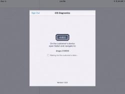 Application diagnostic iphone