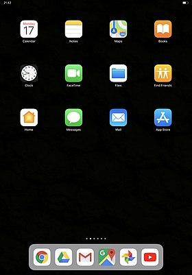 Iphone application installée mais pas d'icone