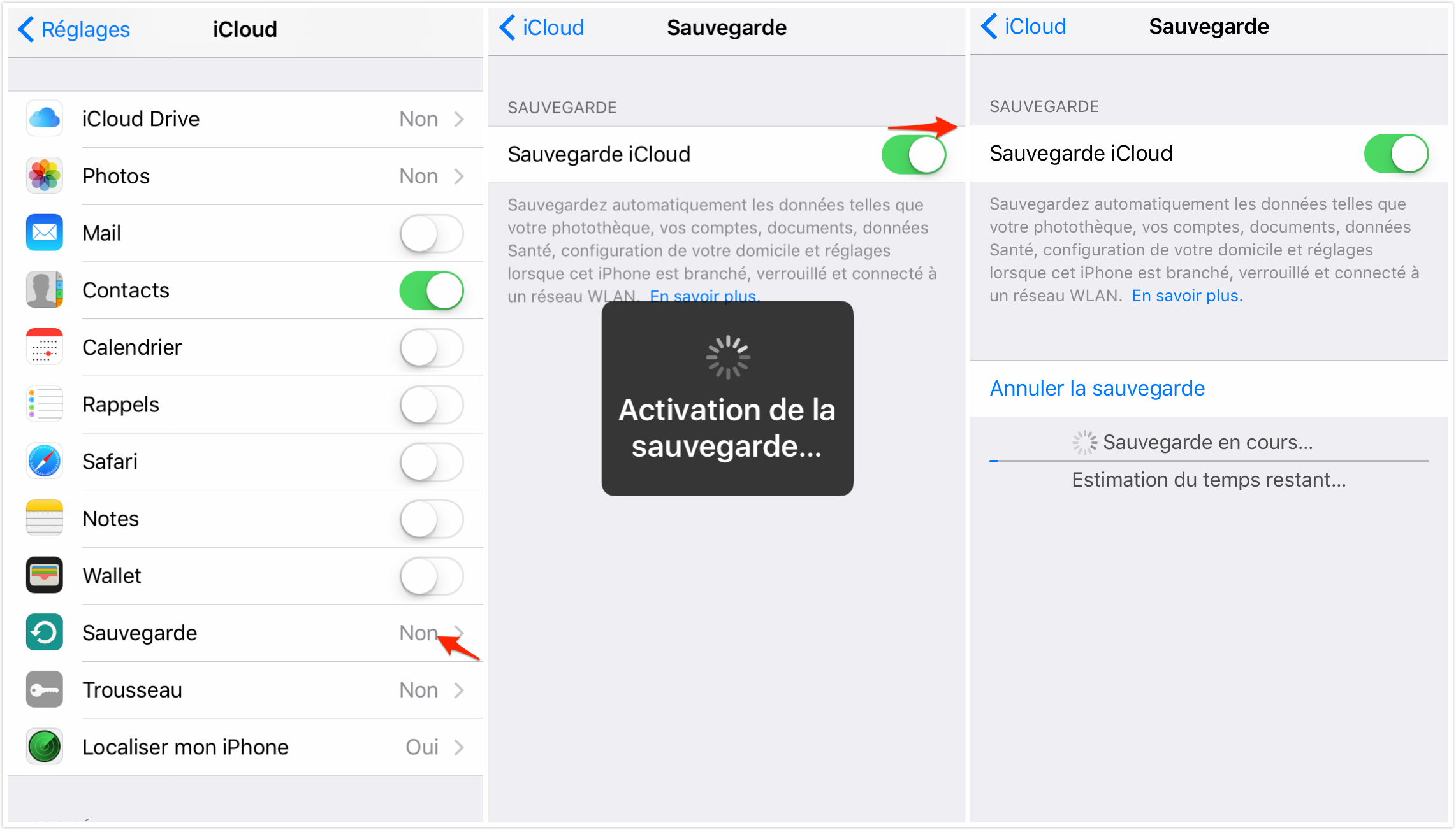 Application pour sauvegarder les contacts iphone