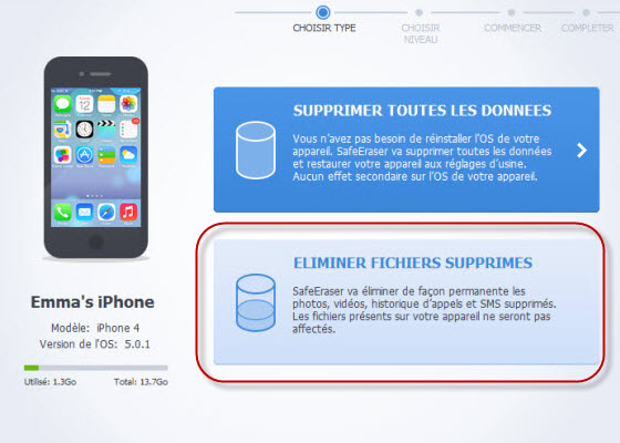 Comment supprimer une application sur iphone
