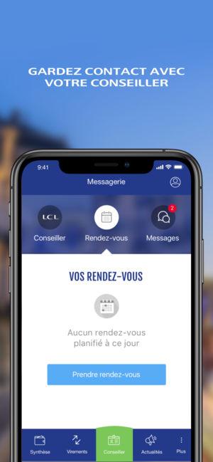 Application lcl pour iphone