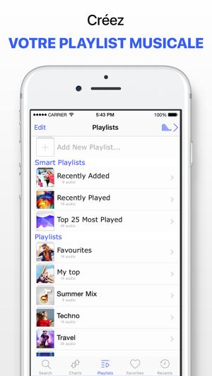 Application musique gratuite iphone sans wifi