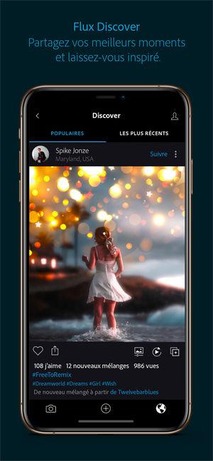 Application pour embellir photo iphone