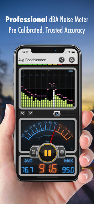Application iphone decibel gratuit