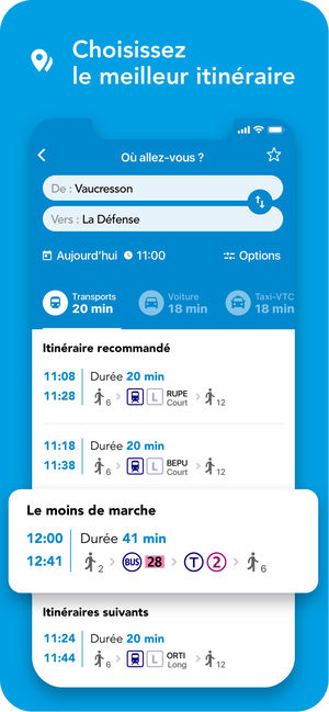 Application sncf pour iphone