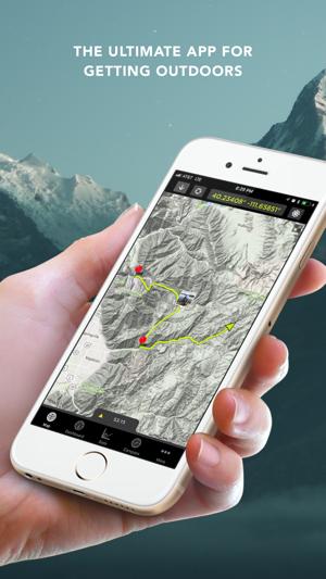 Application gps camping car iphone