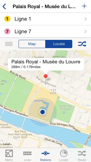 Paris en ligne application iphone