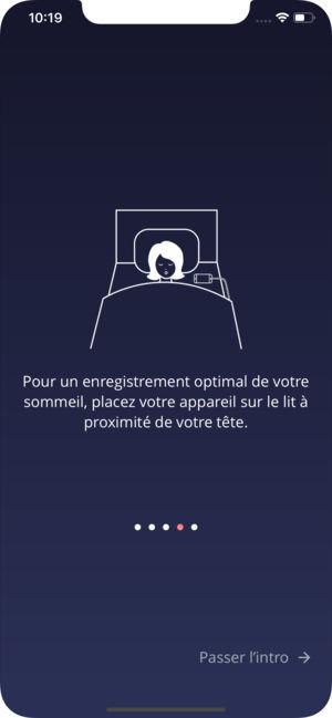 Application pour dormir iphone