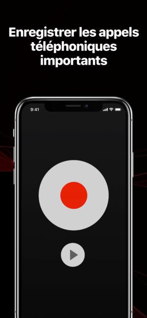 Application iphone enregistrer appel téléphonique