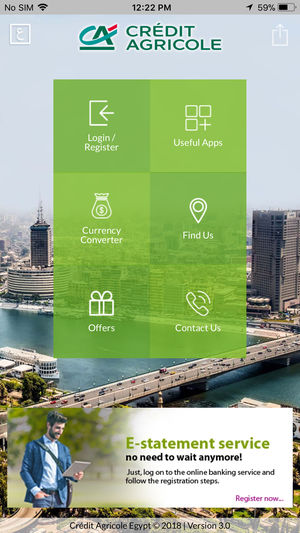 Application iphone credit agricole