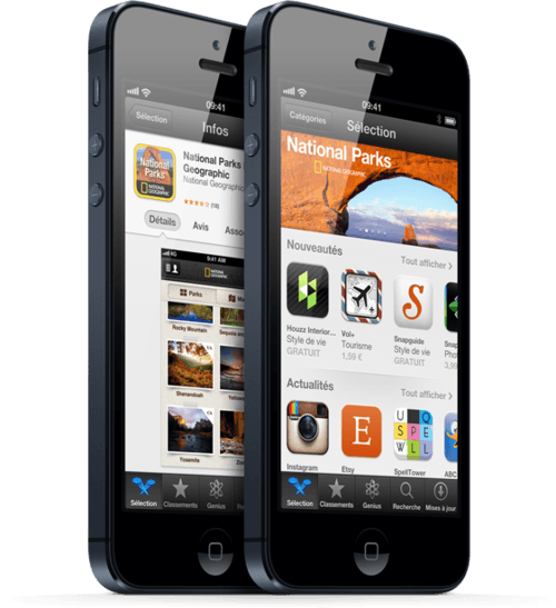 Installer application iphone gratuitement