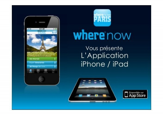Paris application iphone