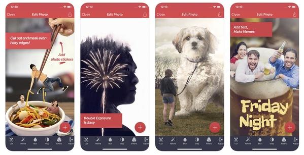 Application filtre photo iphone gratuite