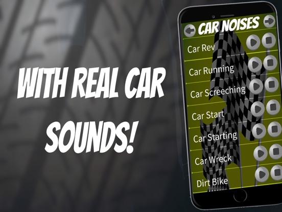 Application iphone bruit moteur voiture