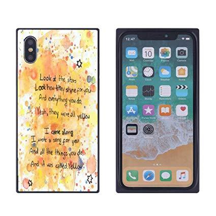 Application iphone carré noir