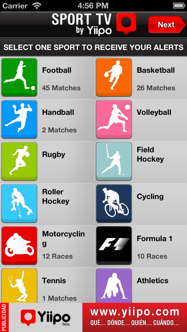 Application sport iphone