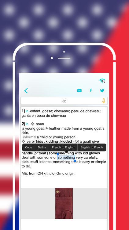 Application iphone anglais gratuit
