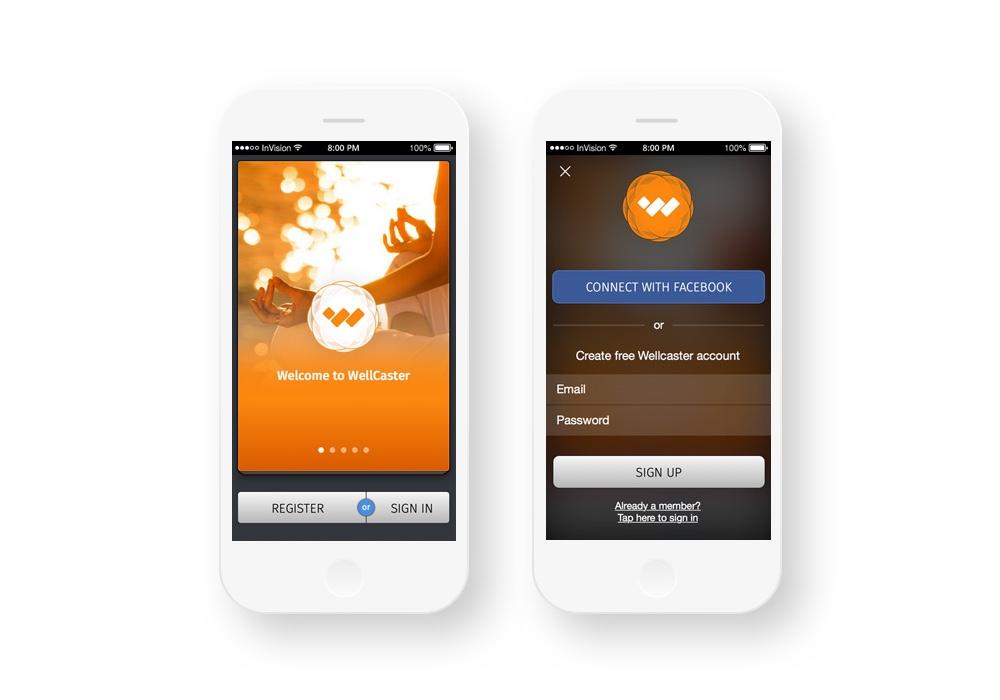 Realiser application iphone