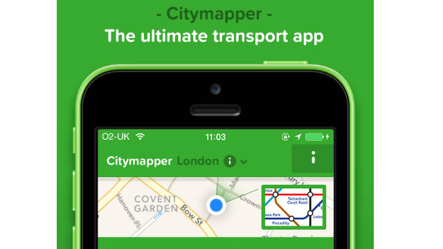 Application iphone transport londres