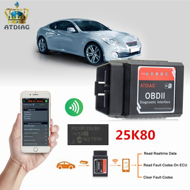 Application diagnostic auto iphone