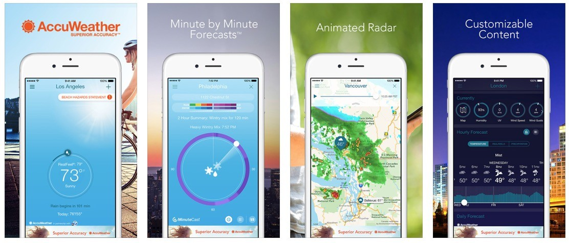 Application radar iphone 2017