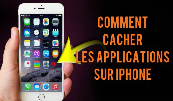 Cacher application iphone ios 12