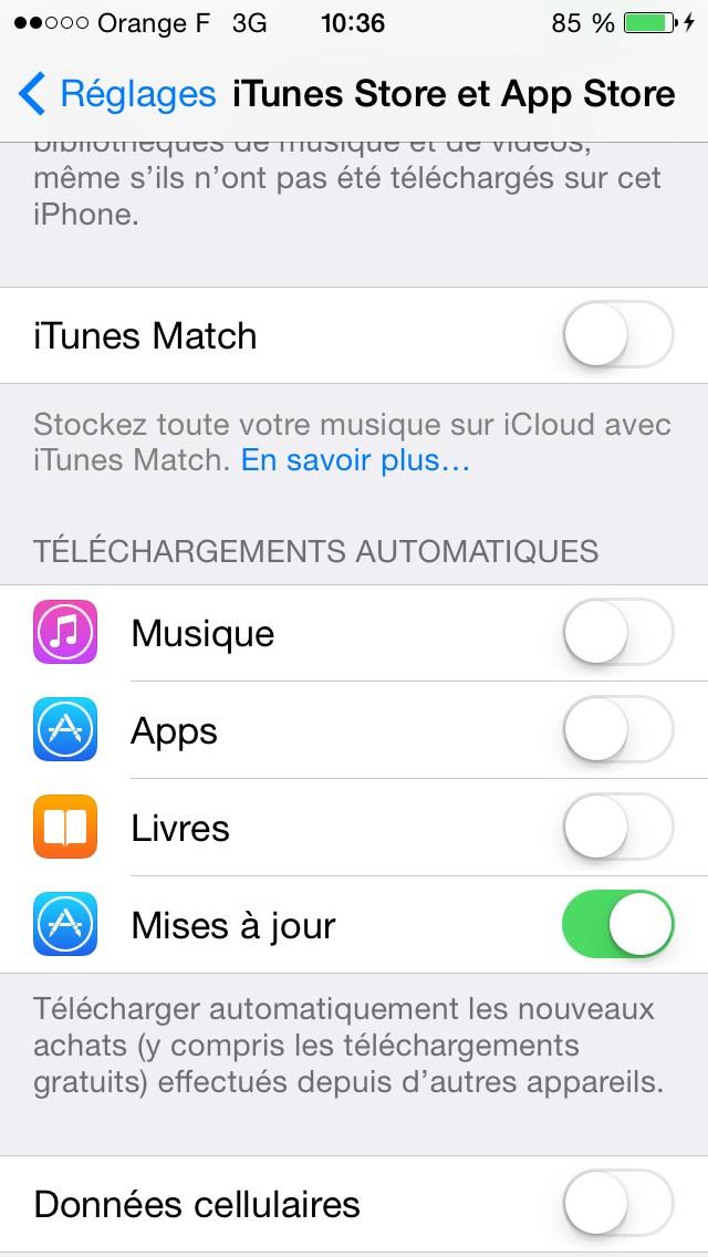Comment désinstaller une application sur iphone 4