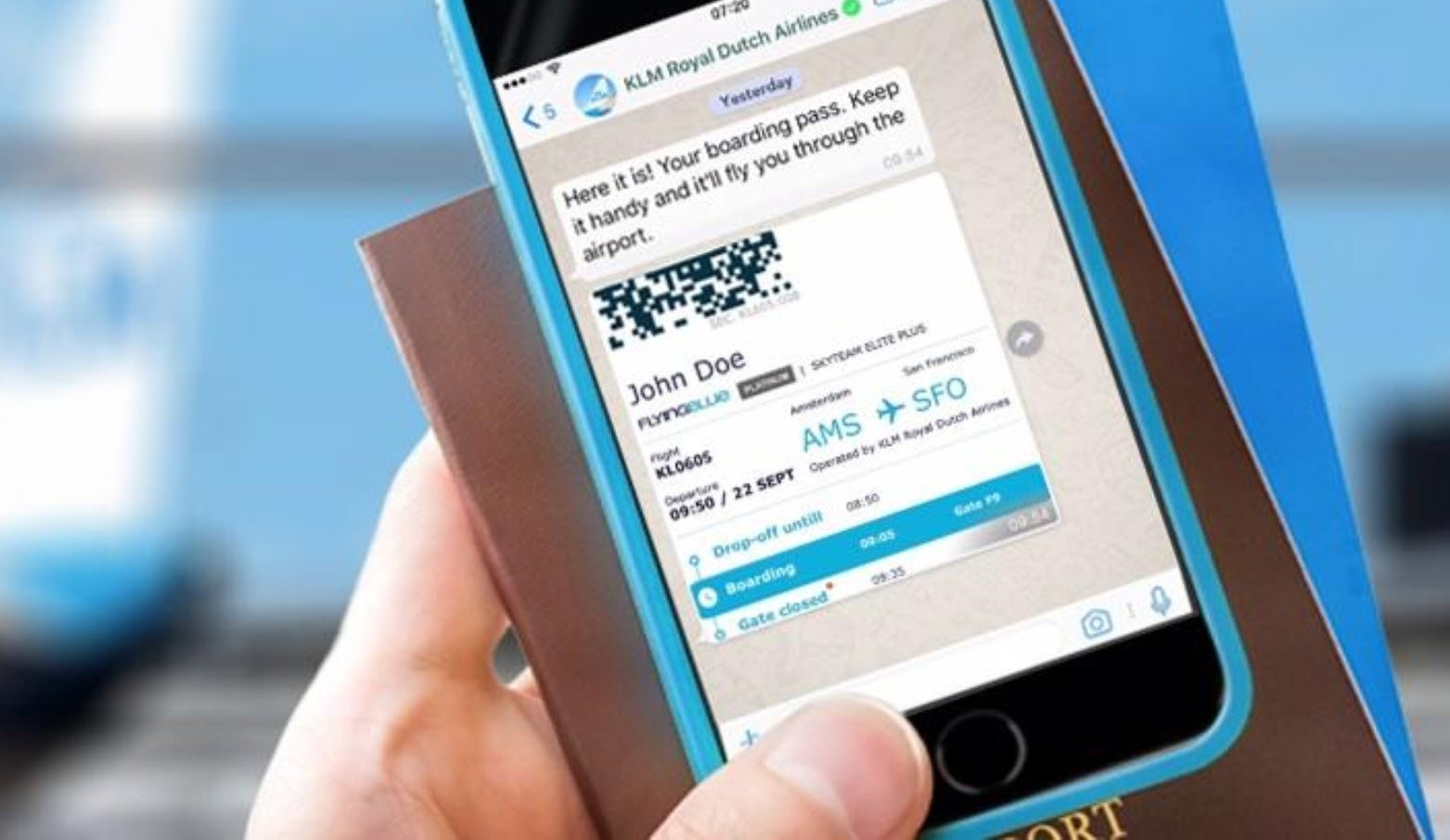 Klm application iphone