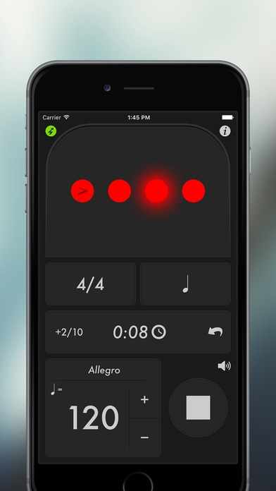 Application metronome pour iphone