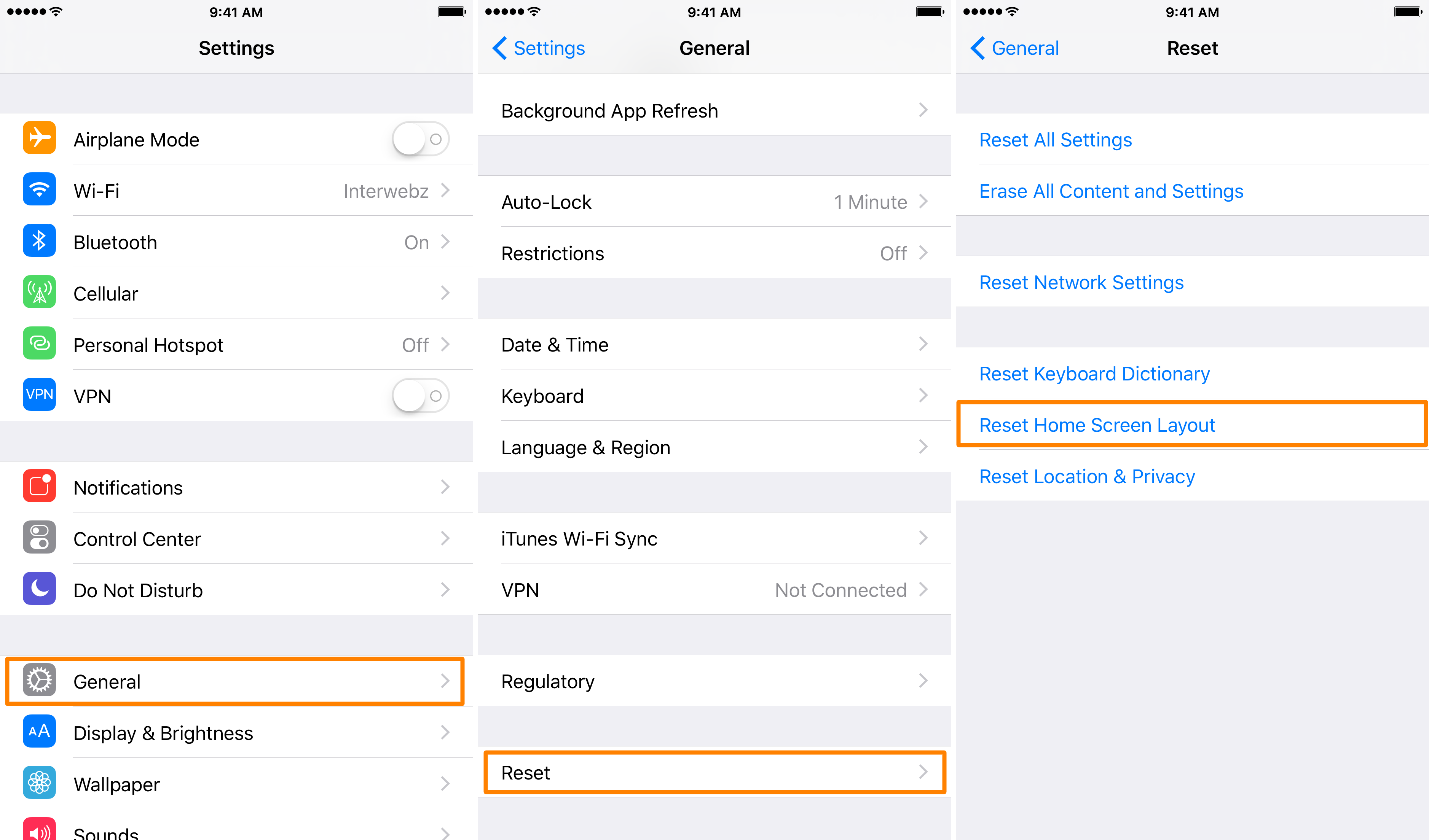Rebooter une application iphone