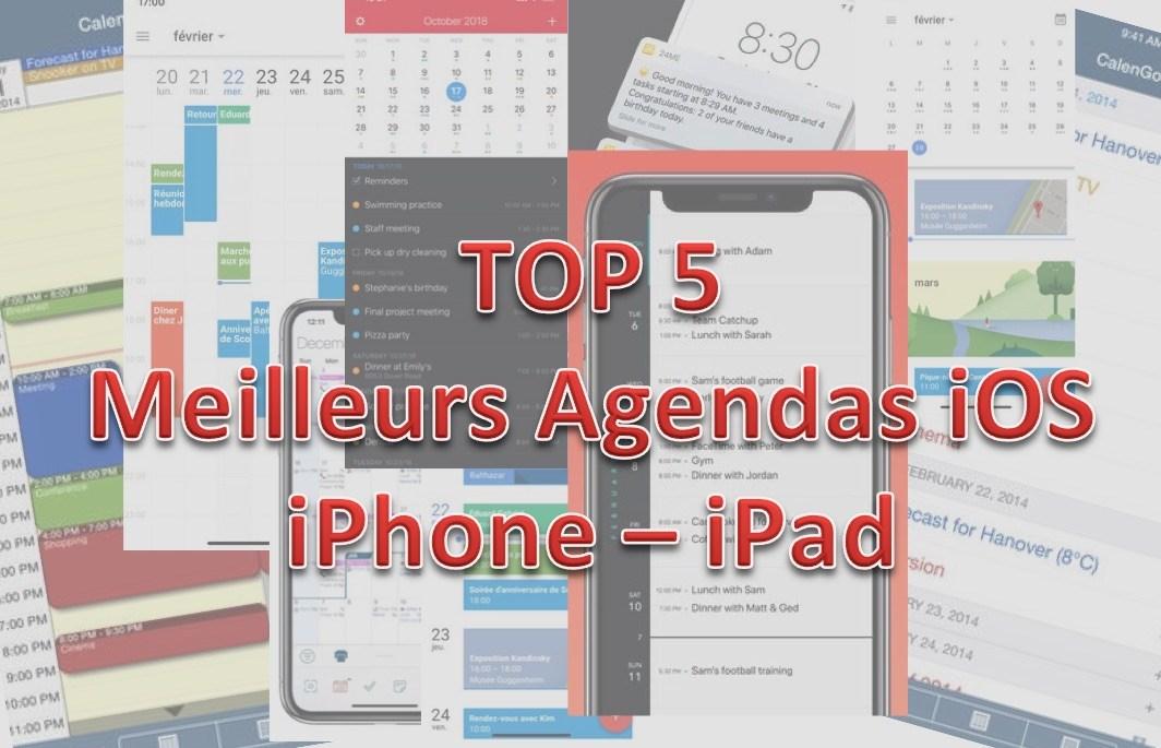 Application agenda partagé iphone