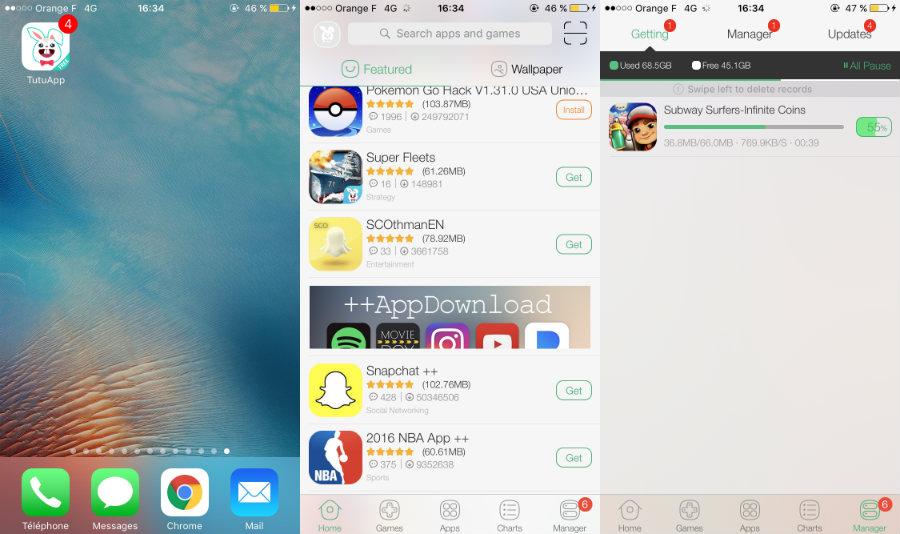 Telecharger application iphone cracké