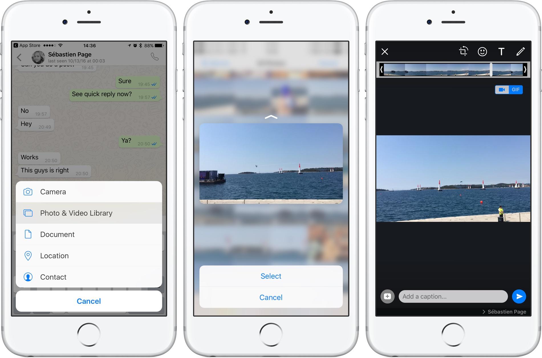 Application pour faire des gif iphone