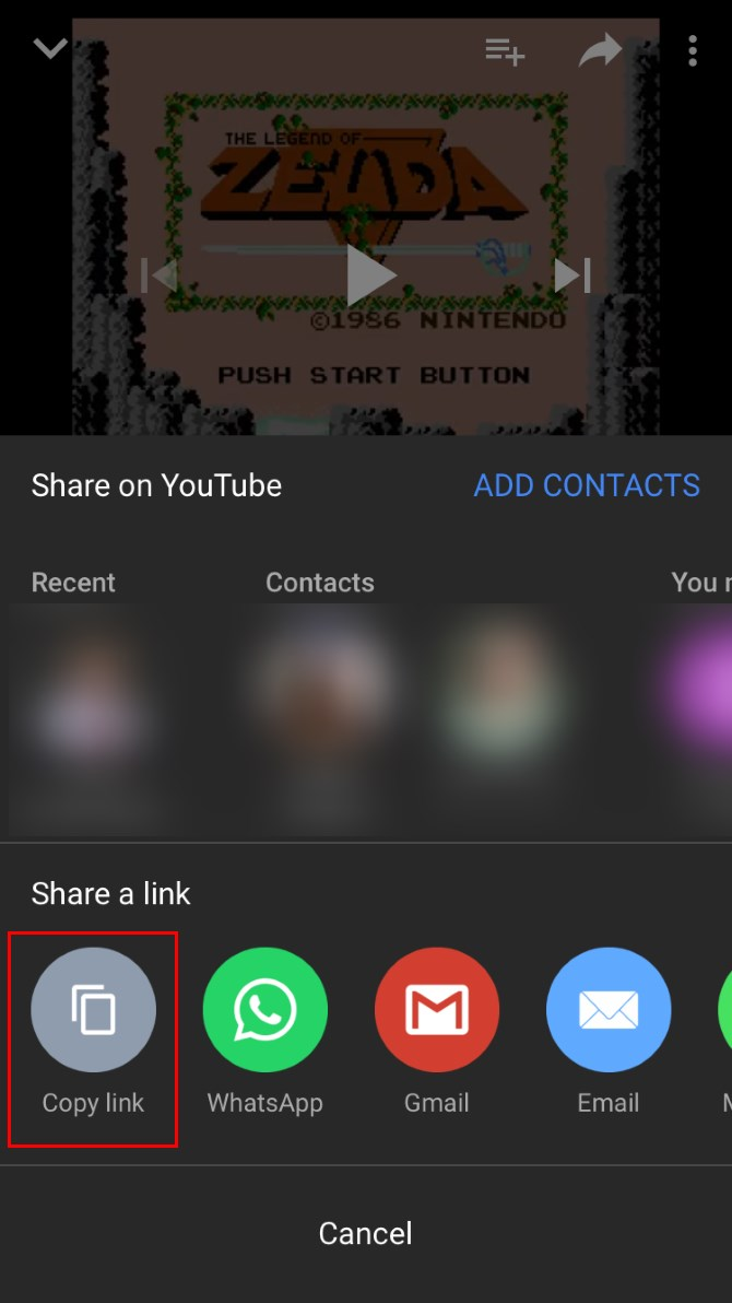 Application iphone video youtube