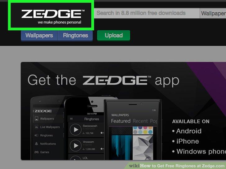 Zedge application iphone