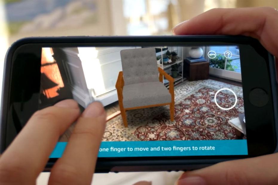 Application réalité augmentée iphone 8