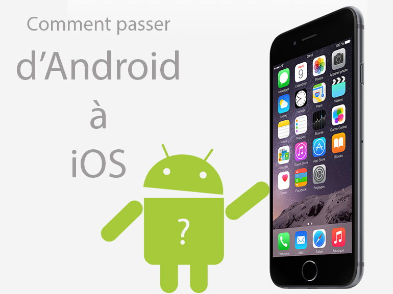 Application android vers iphone