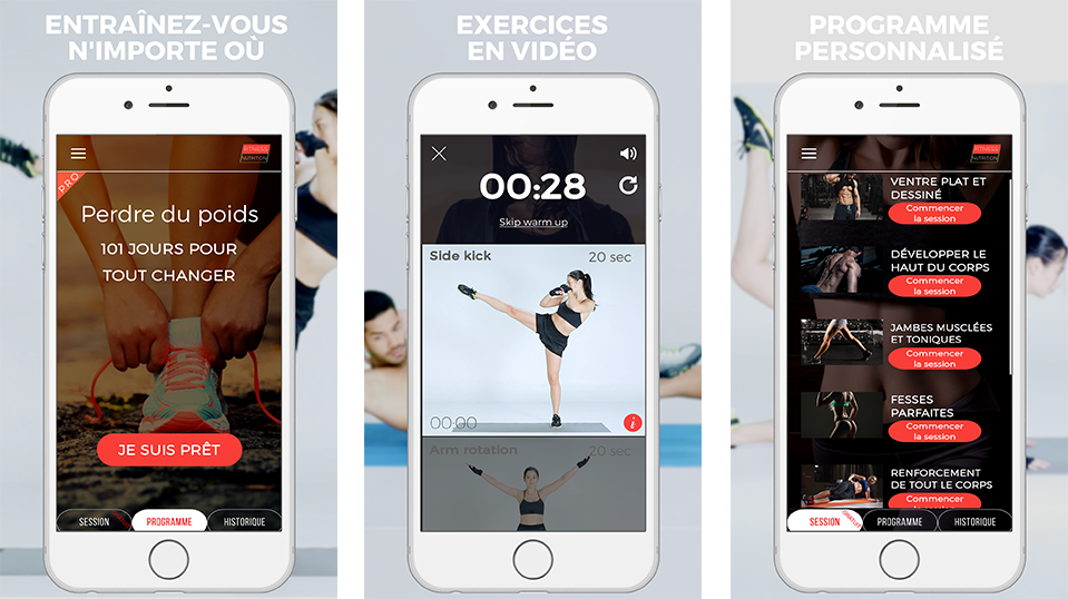 Application iphone jogging gratuite